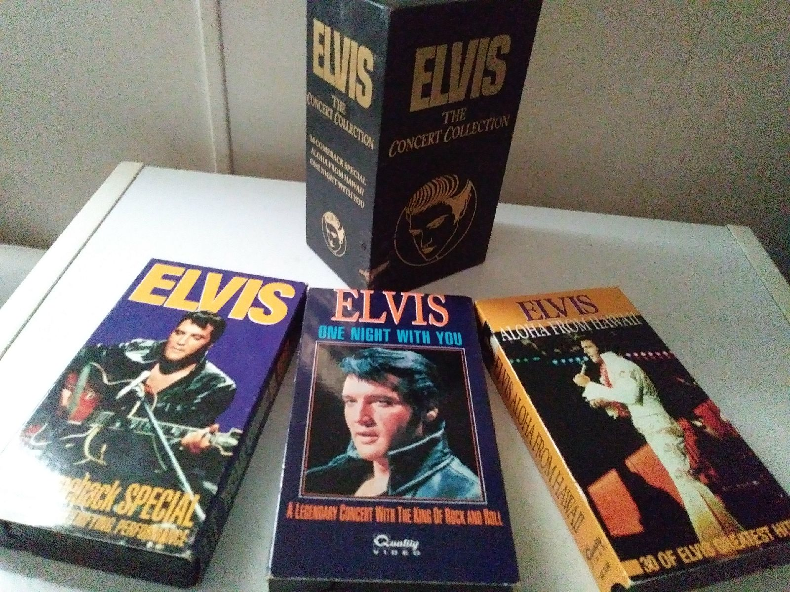 VHS Elvis Collection