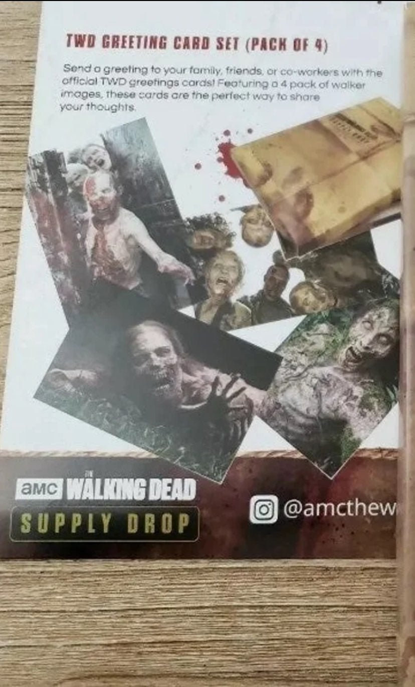 The Walking Dead Greeting Card Set (4)