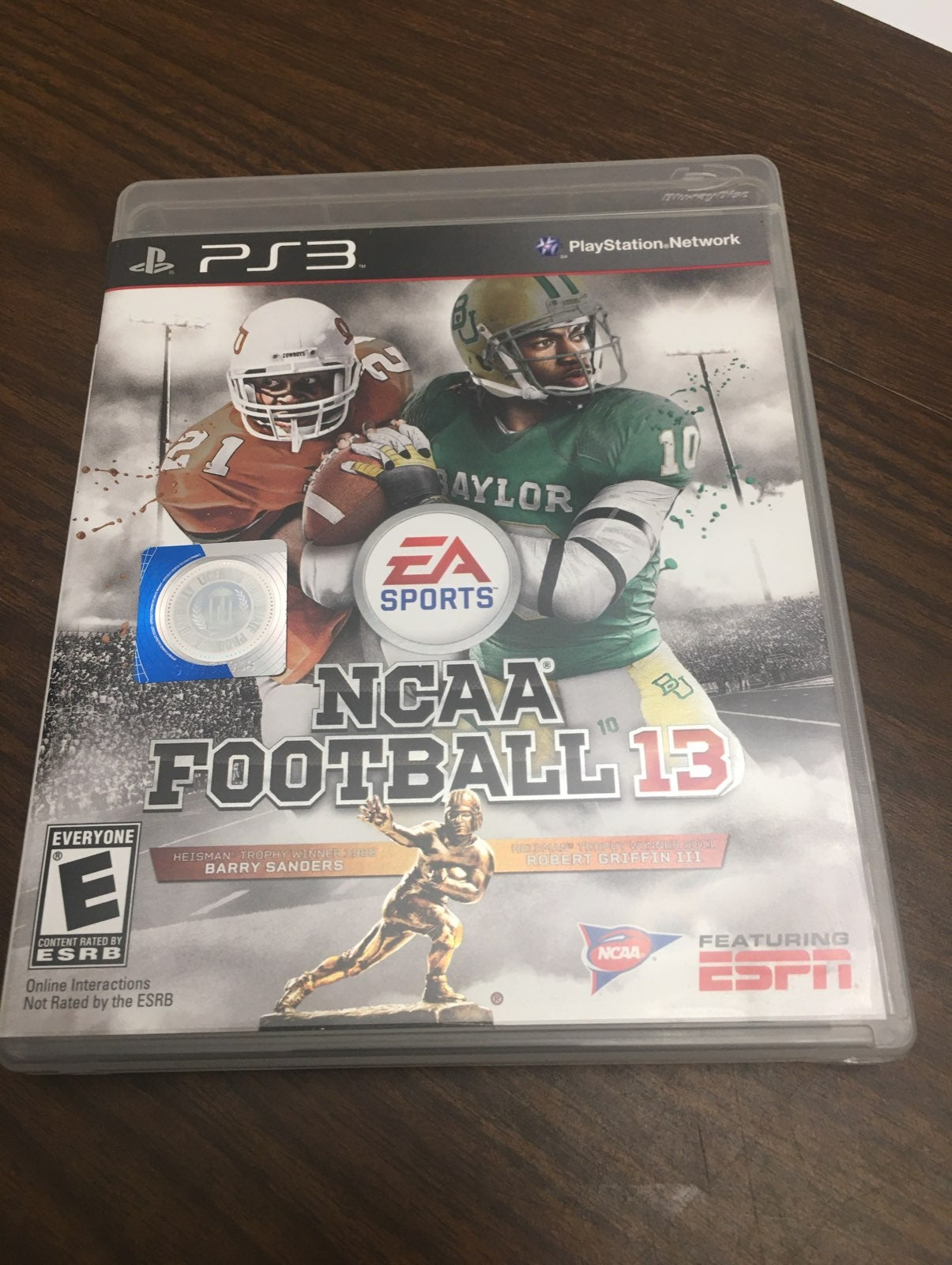 NCAA Football 13 PS3 playstation 3