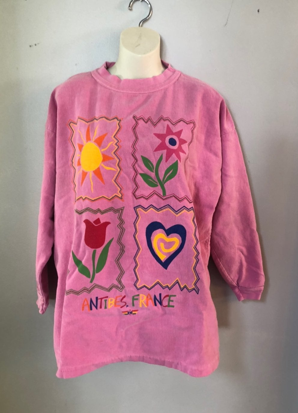 1980s express sweater antibes france