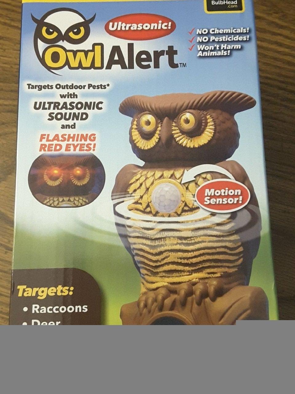 Ultrasonic Owl Alert by Bulbhead