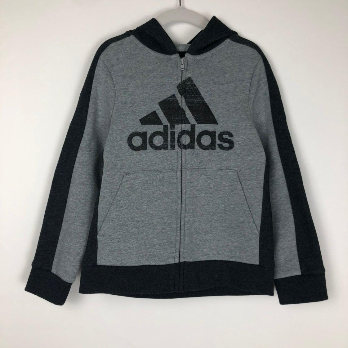 Kid's Adidas Full Zip Hoodie