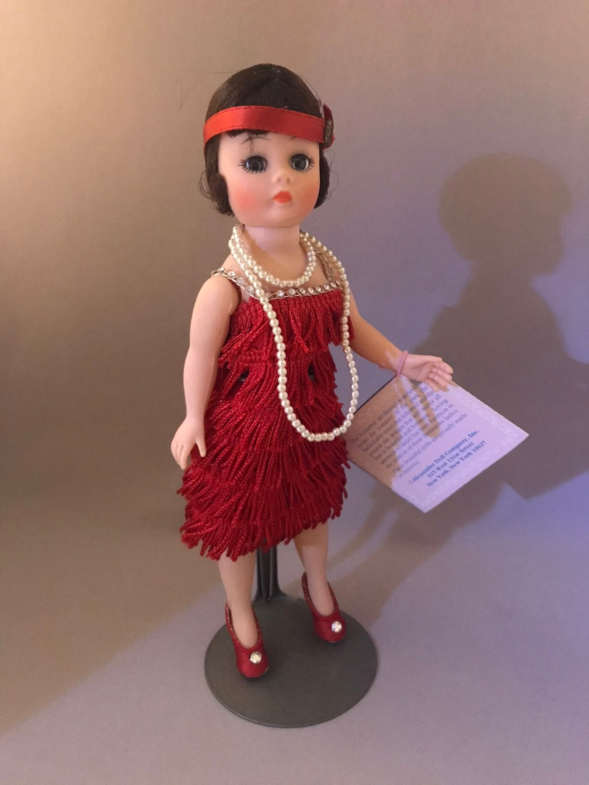 Madame Alexander Red Flapper Doll (1118)