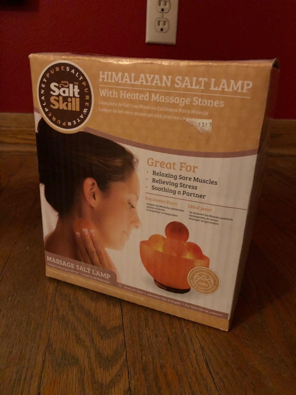 Therapeutic Salt Lamp & Massager