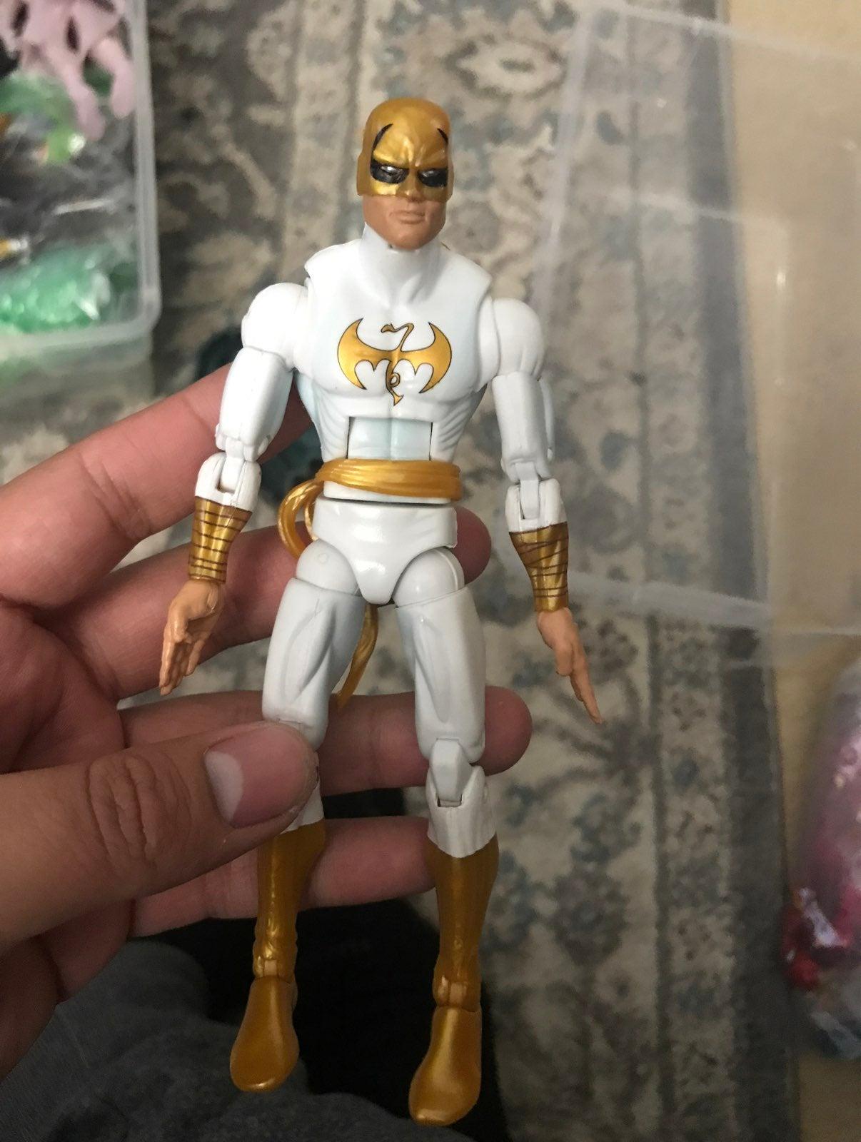 Marvel Legends Iron Fist White