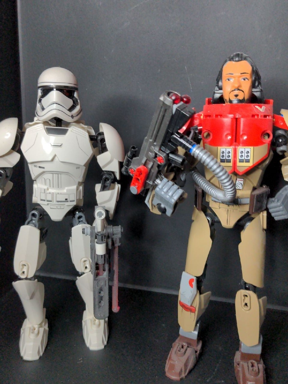 Star Wars lego buildable figures as is