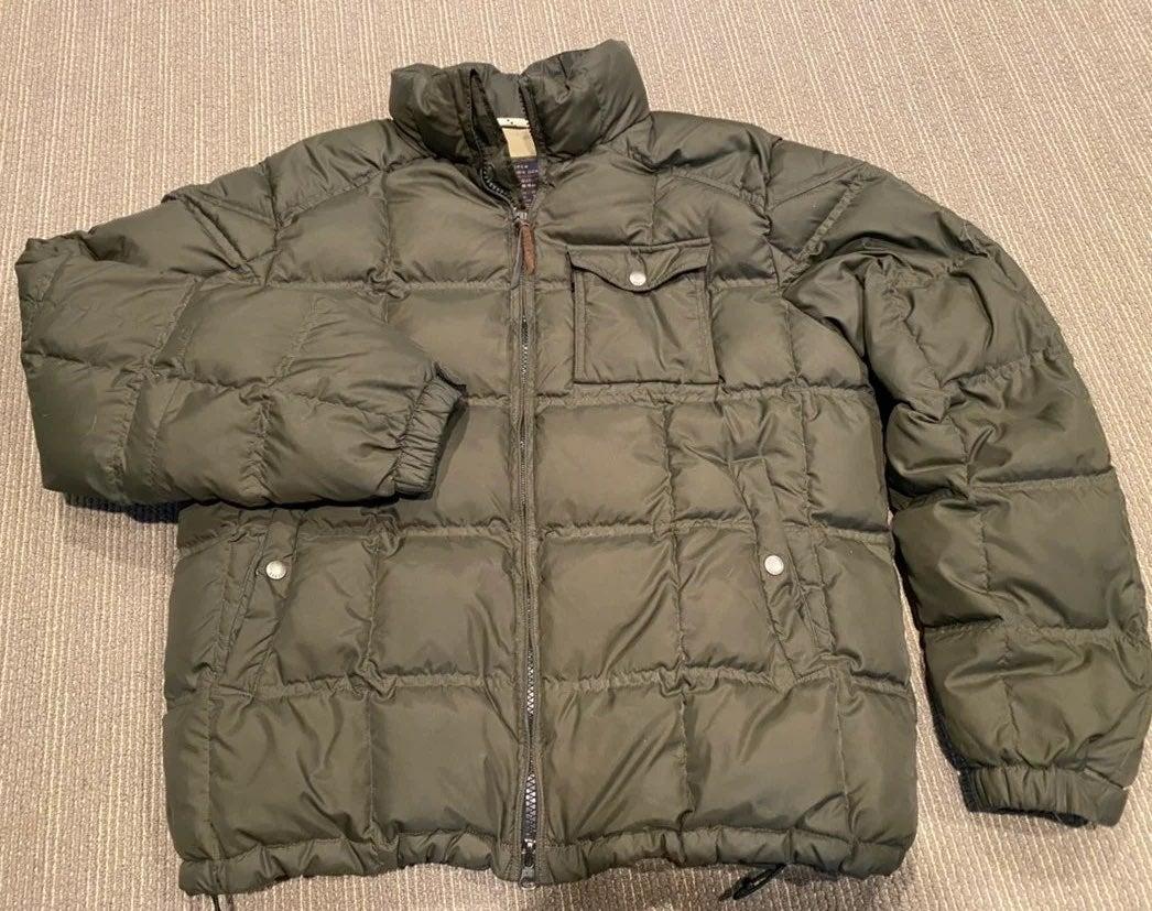 j crew puffer coat