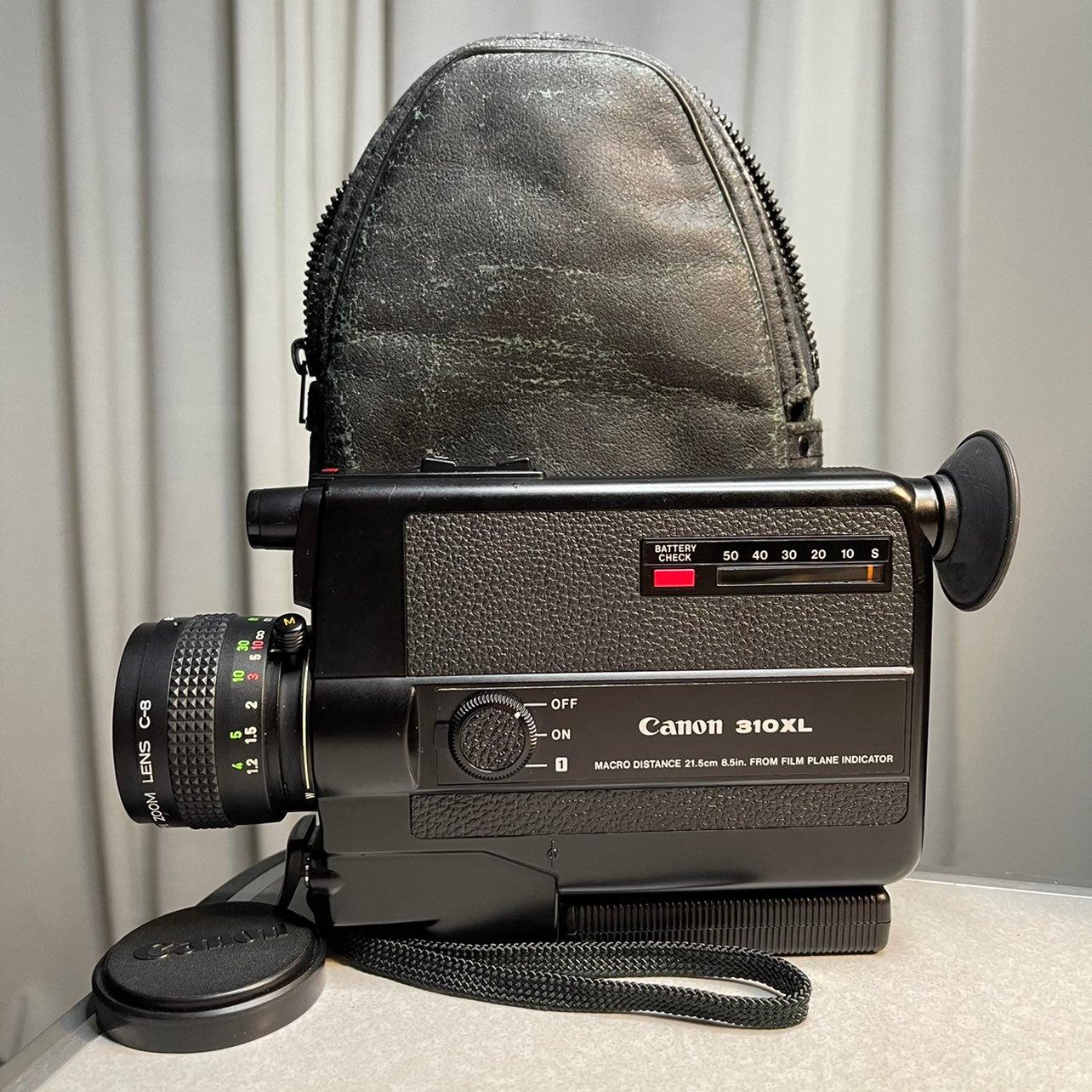 1975 Canon 310XL Super 8 Type 8mm Camera