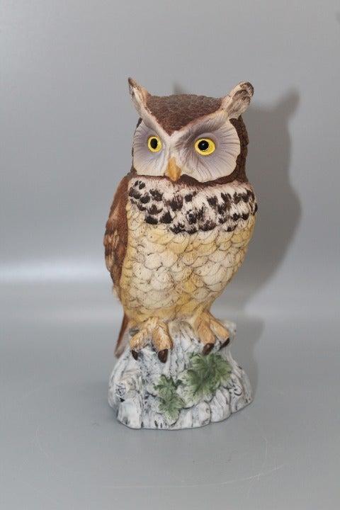 Vintage Andrea by Sadek Owl Figurine