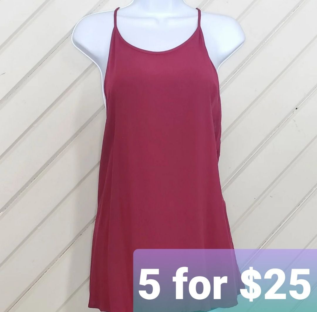 ••5-for-$25••AMBIANCE Drapey Keyhole Top