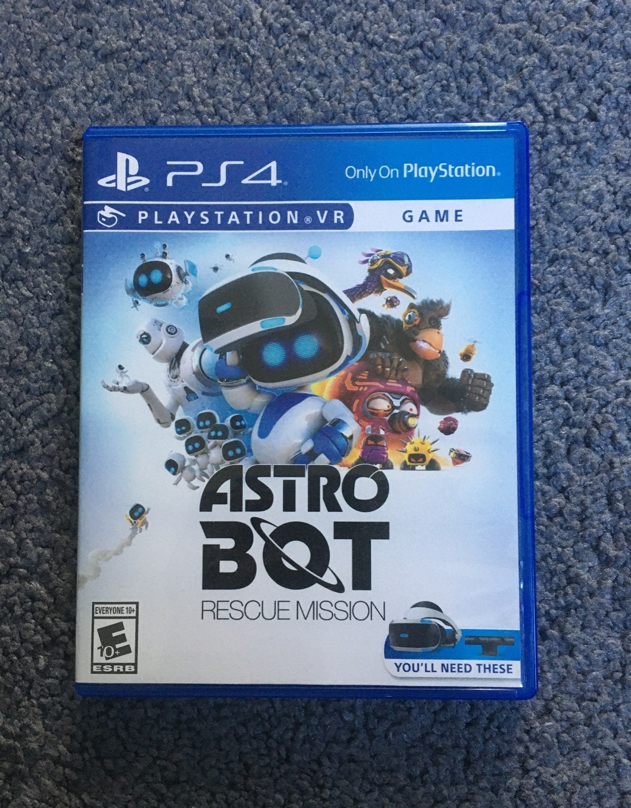 PS4 Astro Bot Rescue Mission
