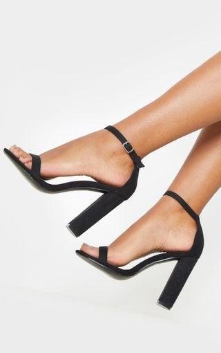 PRETTYLITTLETHING Block Heel