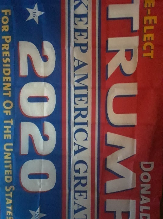 2-Re-Elect & 2 Signs