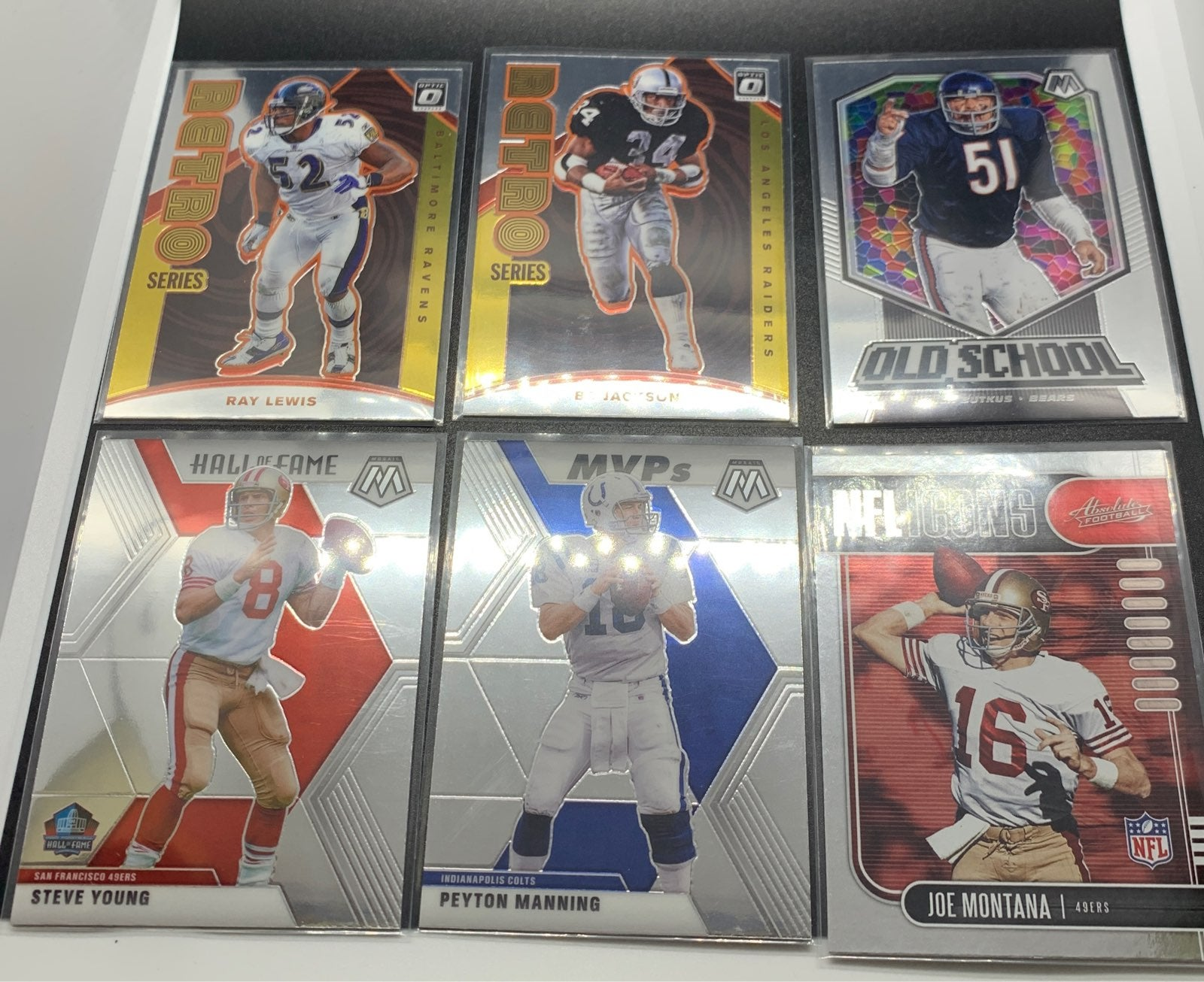 NFL Icons Inserts Lot (10)