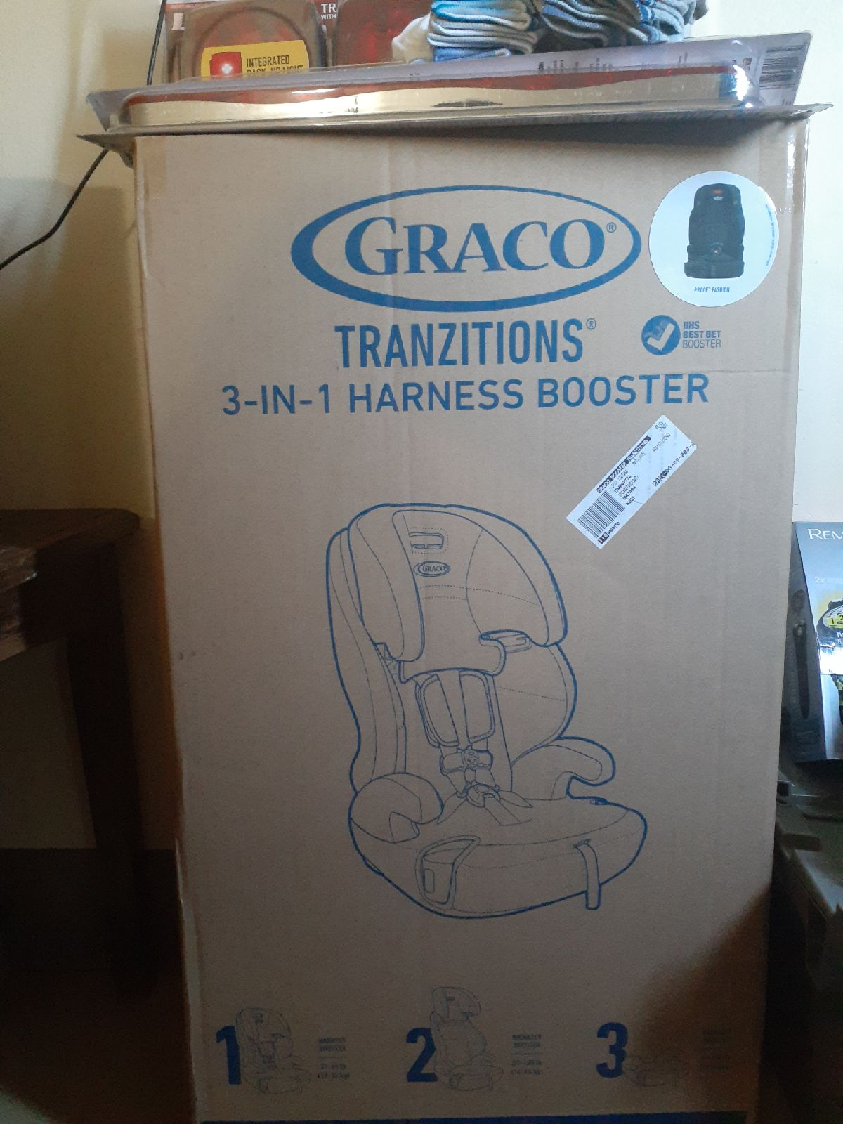 Graco Tranzitions 3 in 1 harness booster
