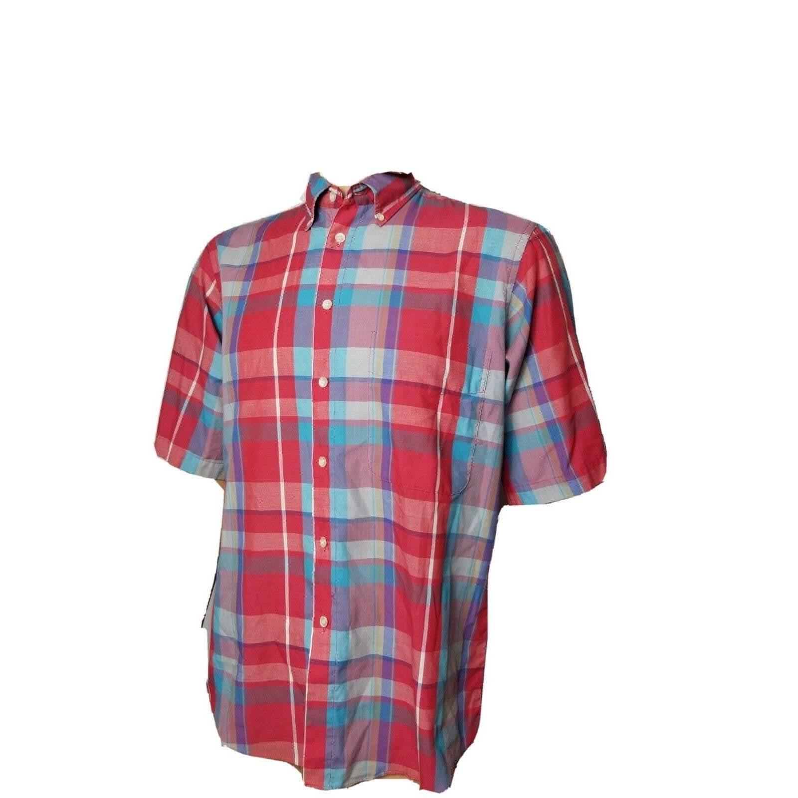 Vintage Mens Levi's  Button Up Shirt