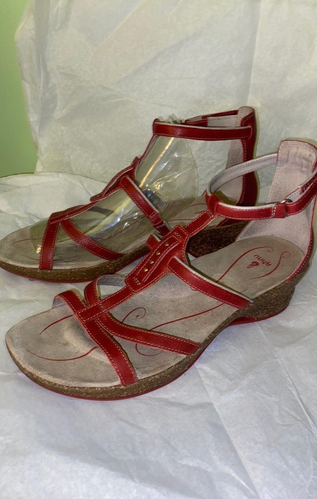 Ahnu Bossa Nova Alta Leather Sandal