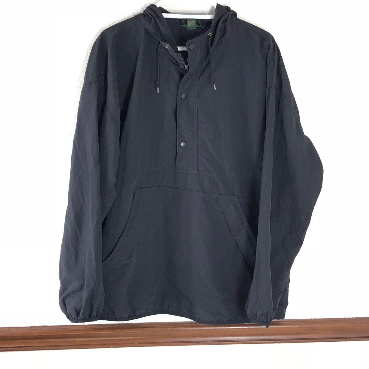 J Crew Men's Pullover Jacket Sz L