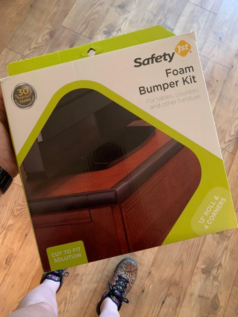 NEW Safety 1st Foam Bumper Kit