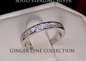 Georgia Sterling Silver ring sz 8