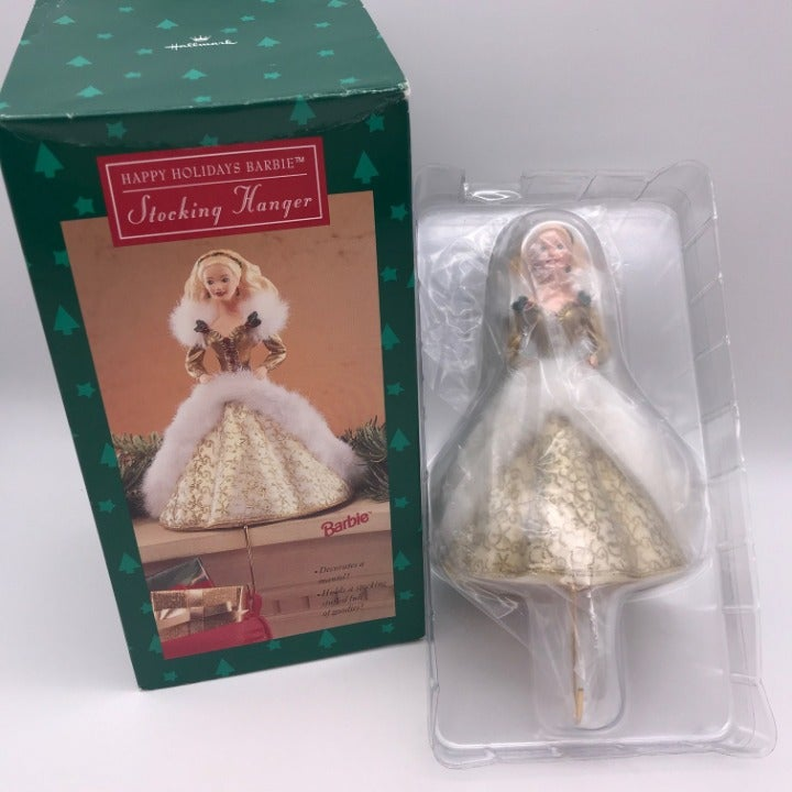 Hallmark Vintage Barbie Stocking Hanger