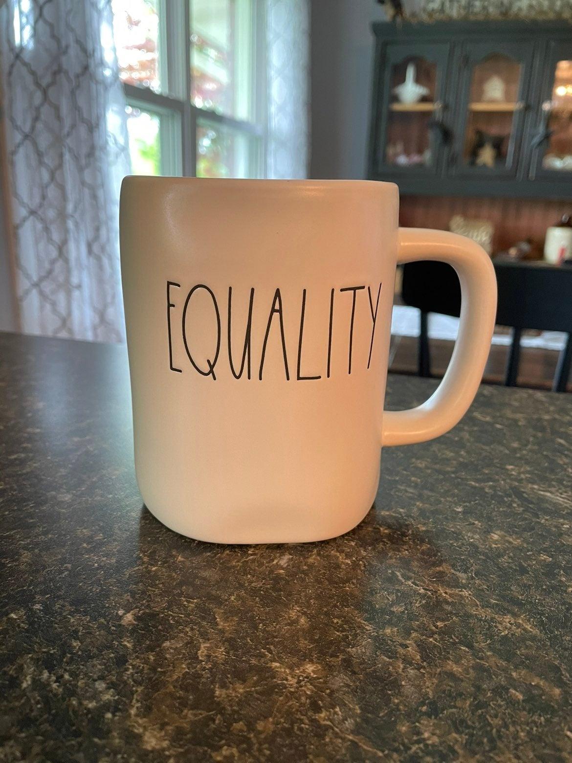 Rae Dunn Equality Mug