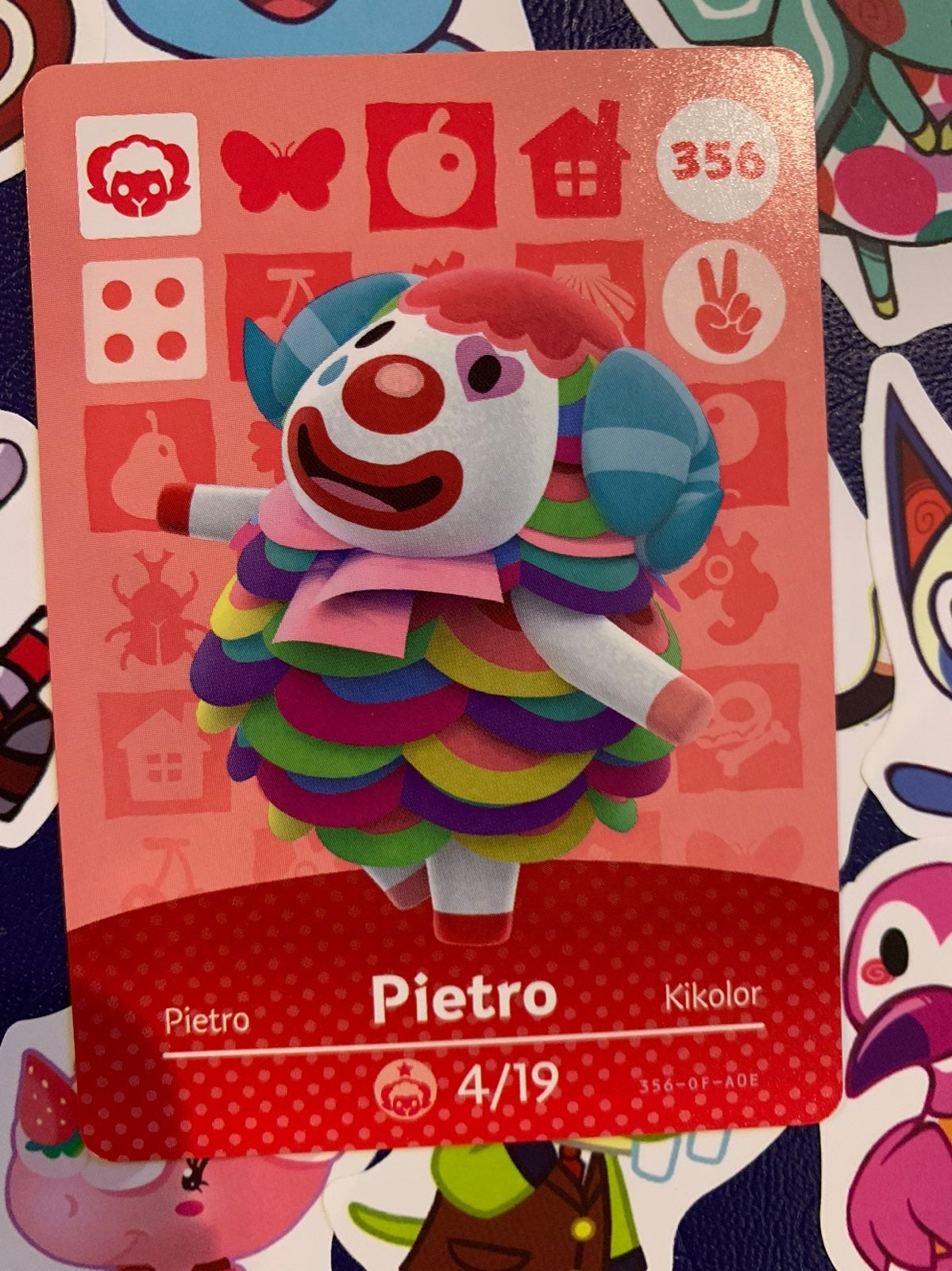 Pietro Animal Crossing Amiibo Card