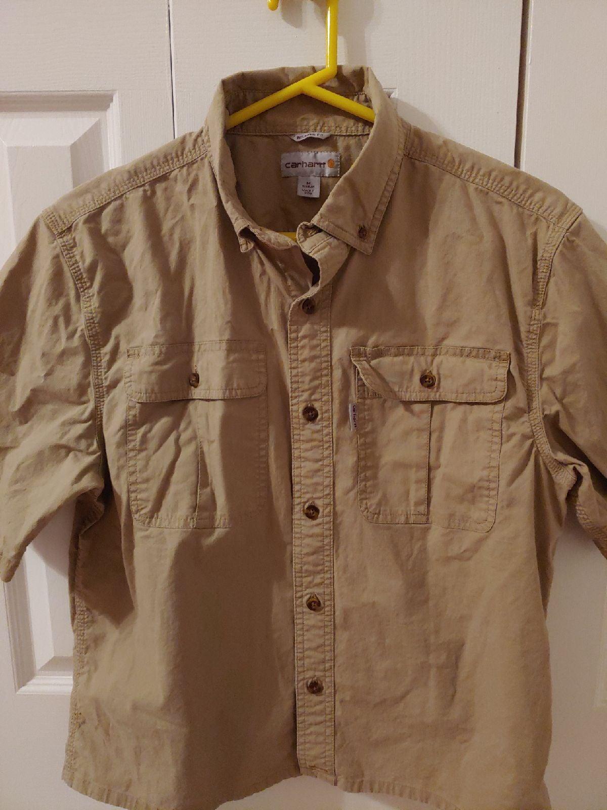 Carhartt Mens Short Sleeve Shirt. M.