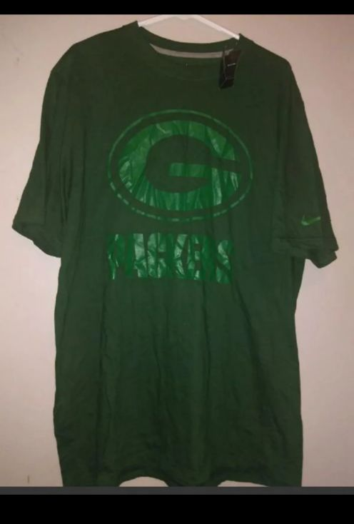 New NFL Nike Green Bay Packers T-shirt