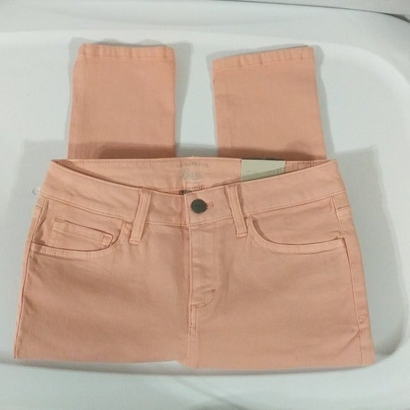 GH Bass Light Coral Crop Skinny - size 0