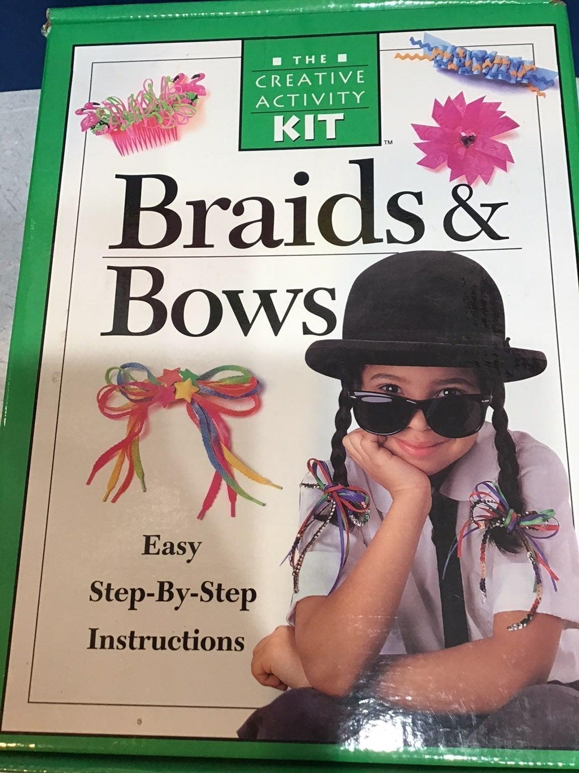 Braids & bows hair creative activity kit