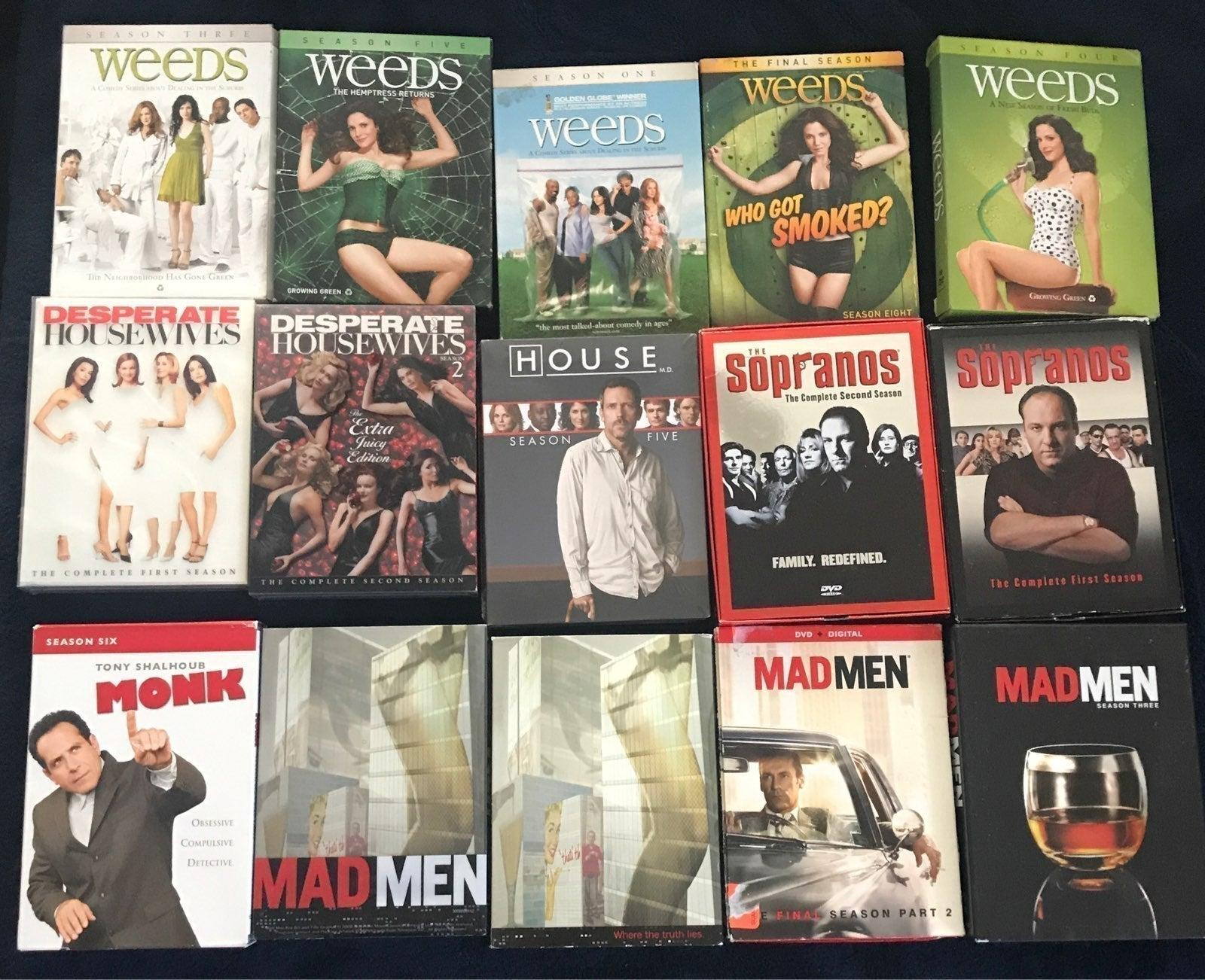 DVD Boxset Lot
