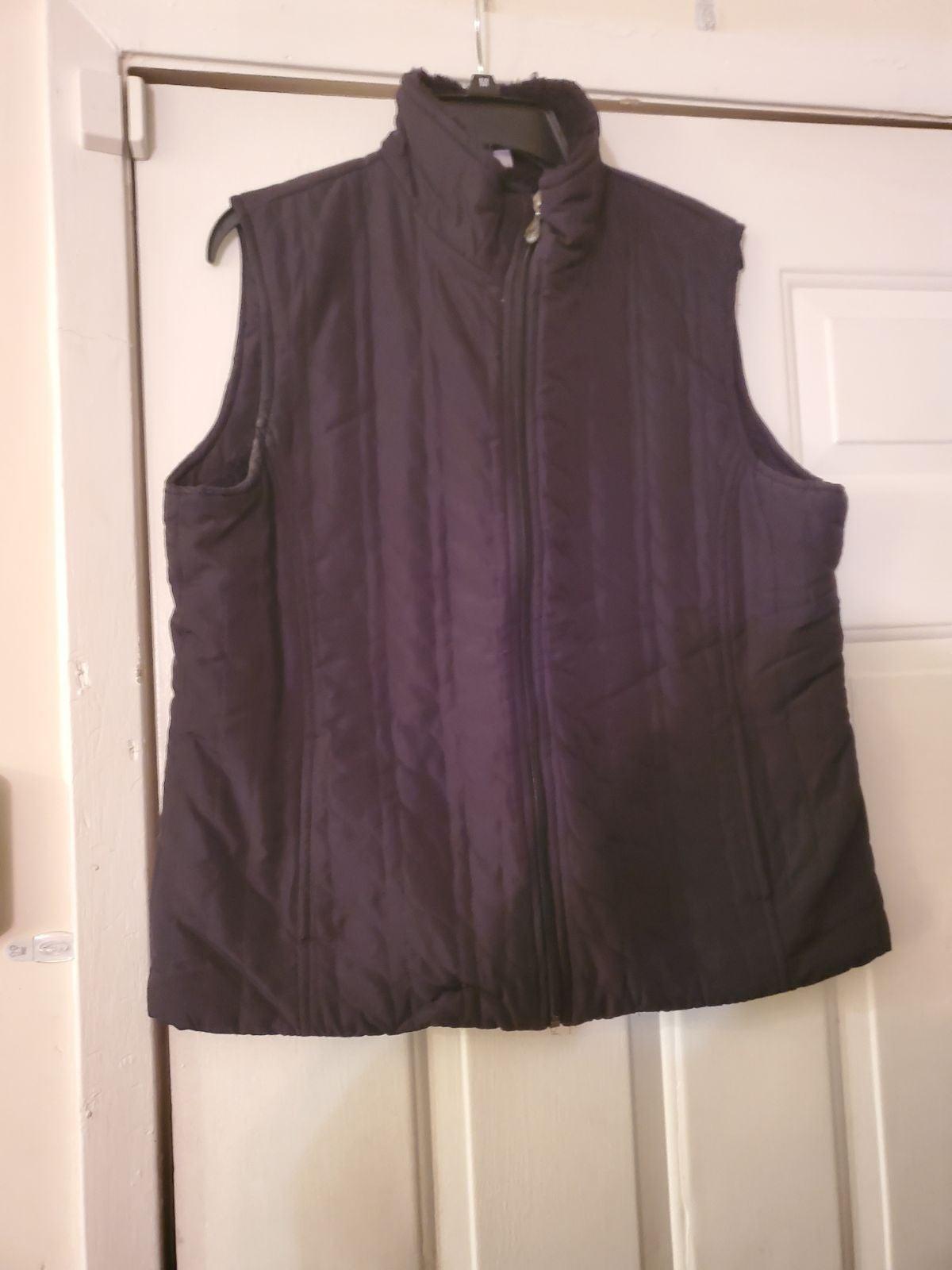Laura Scott Black Vest