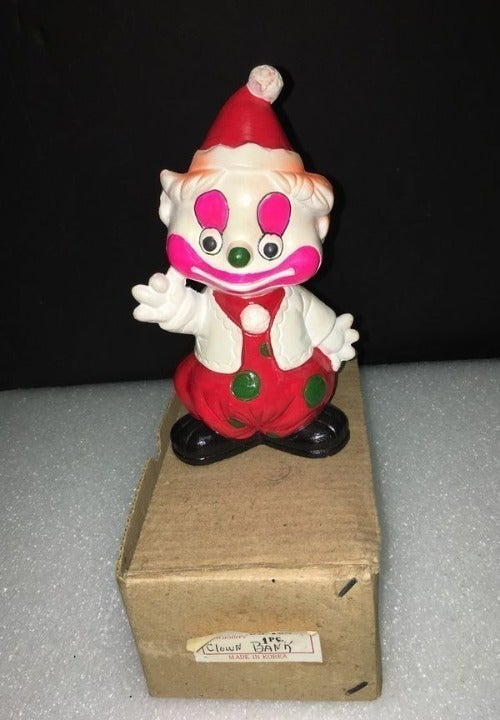 Vintage Clown Bank - #98-165 - Ceramic