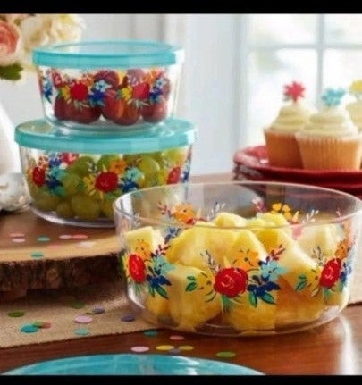Pioneer Woman Nesting Candy Bowls Set 3