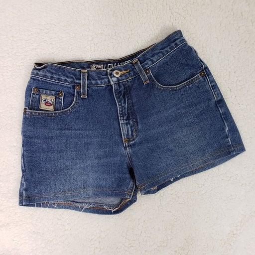 Cruel Girl custom cut denim shorts high