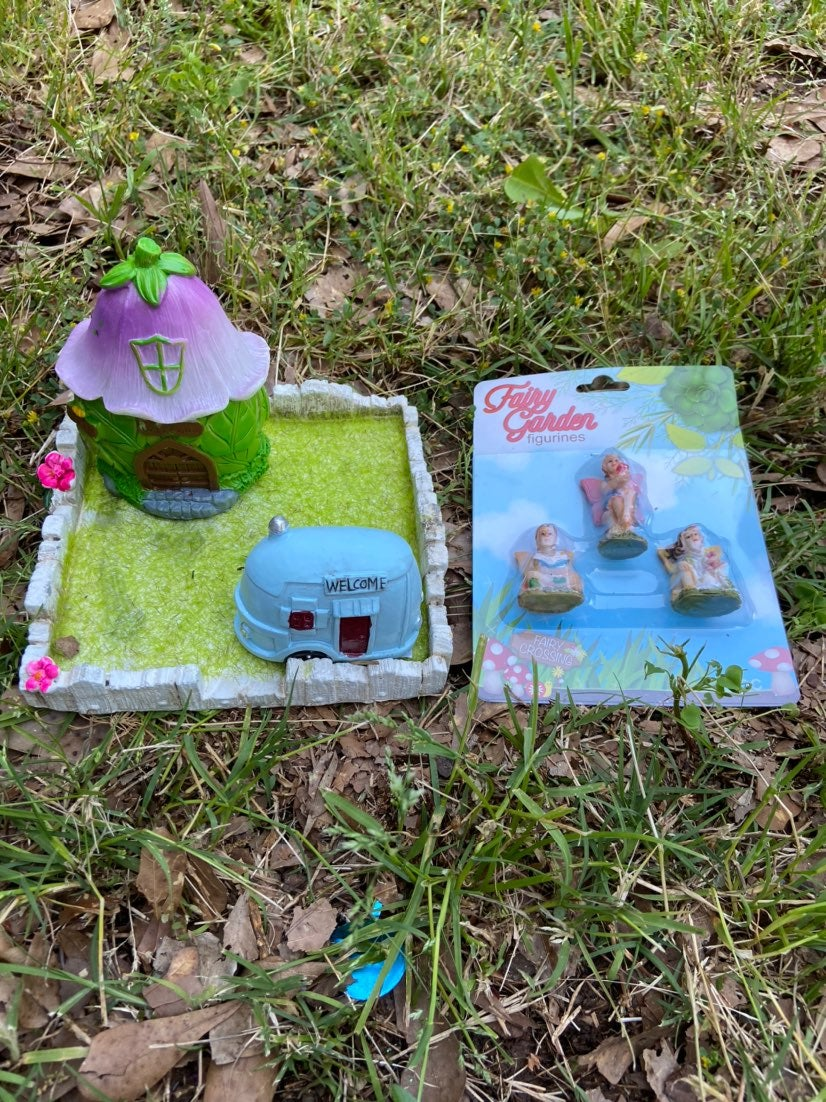 Miniature 6 piece Fairy Garden
