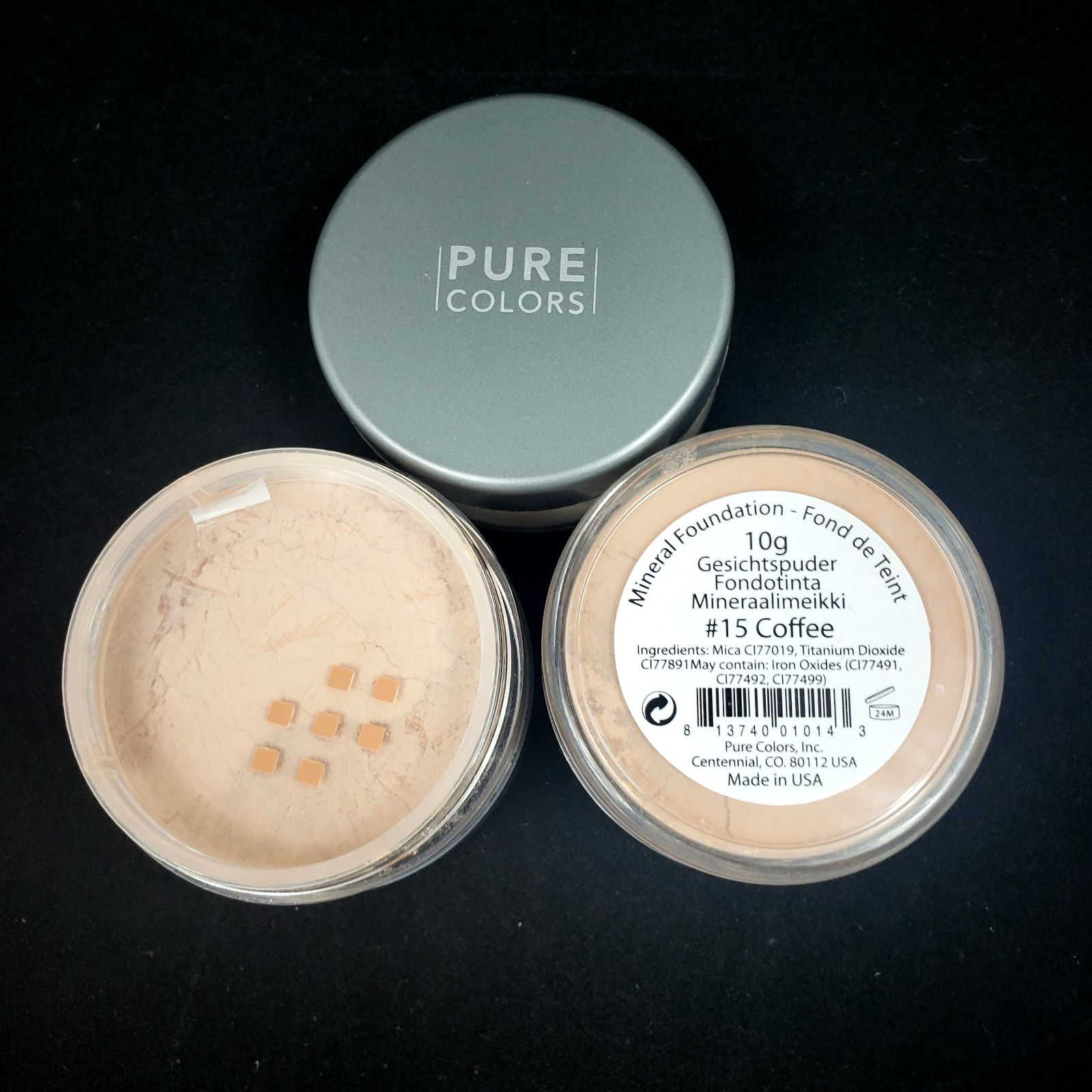 Pure Color #15 Coffee Mineral Foundation