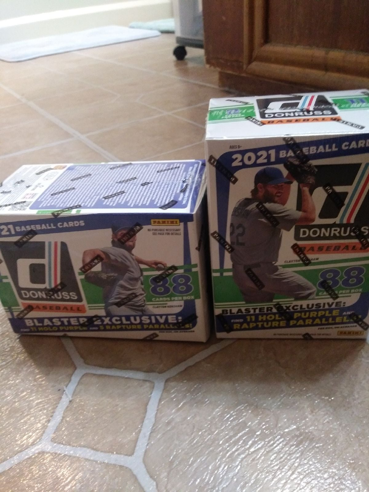Donruss blaster baseball box
