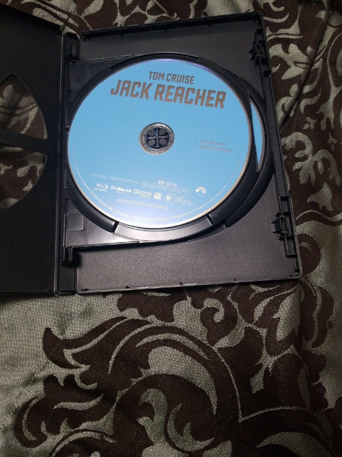 Jack Reacher 1,2 BLU-RAY