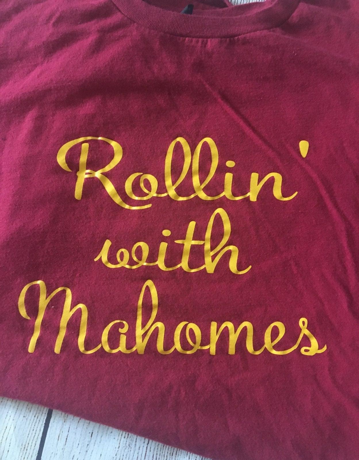KC Chiefs Mahomes med shirt