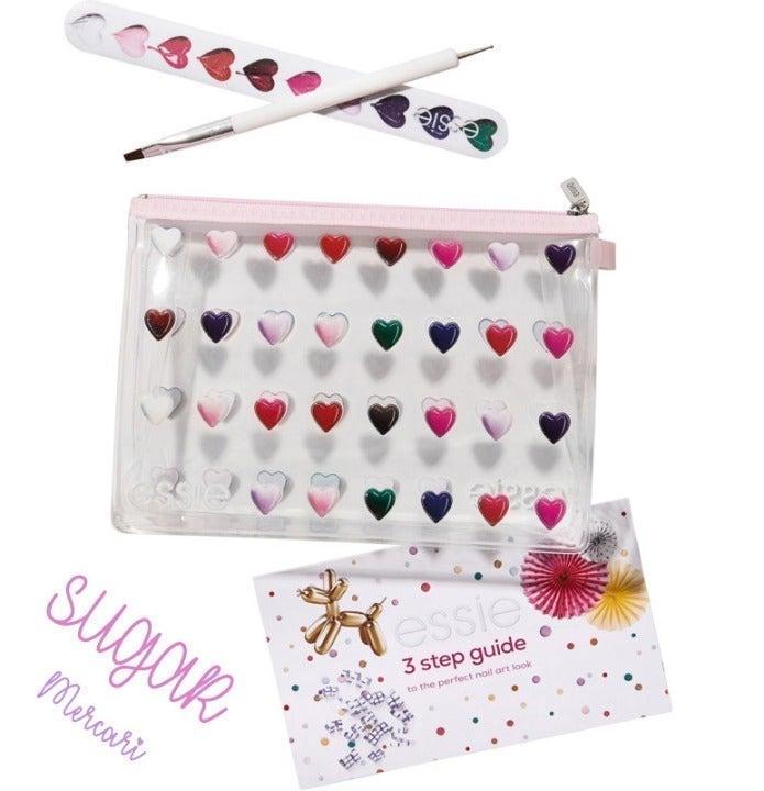 NIP Essie 4pc Nail Art Manicure Gift Set