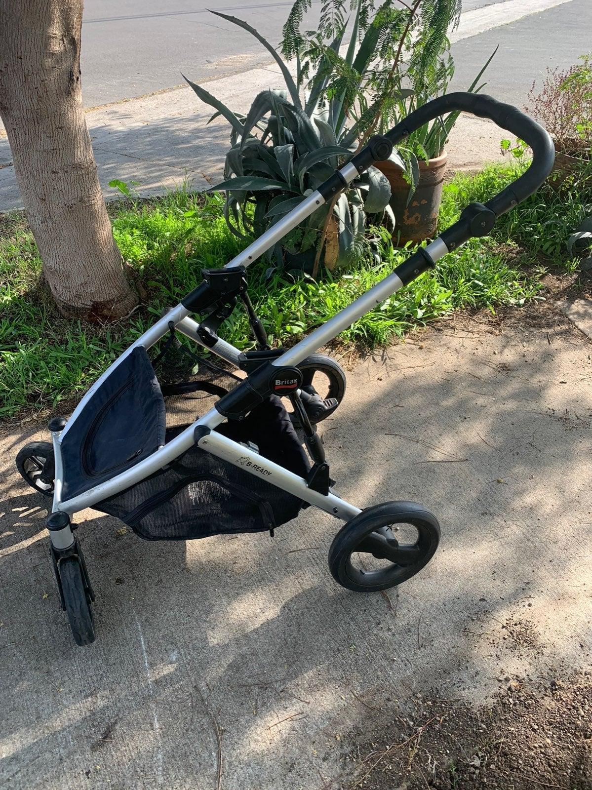 Britax b ready stroller frame