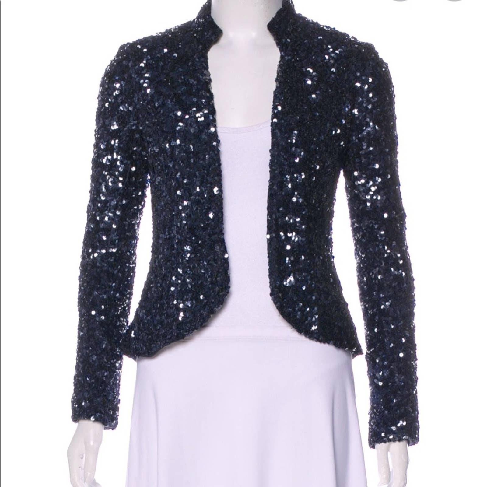 GRYPHON Embellished  Jacket Dark Blue