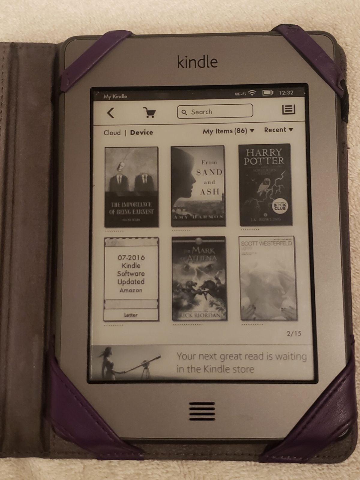 Amazon Kindle 4th gen