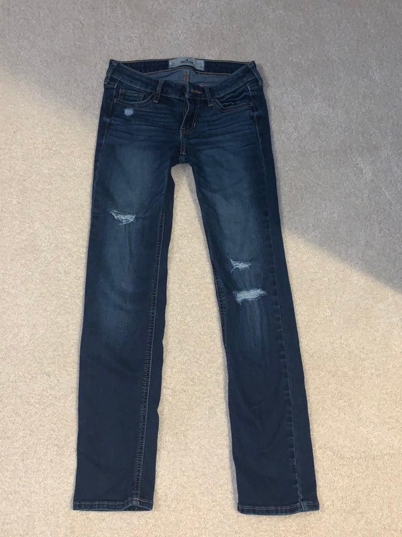 hollister jeans size 0