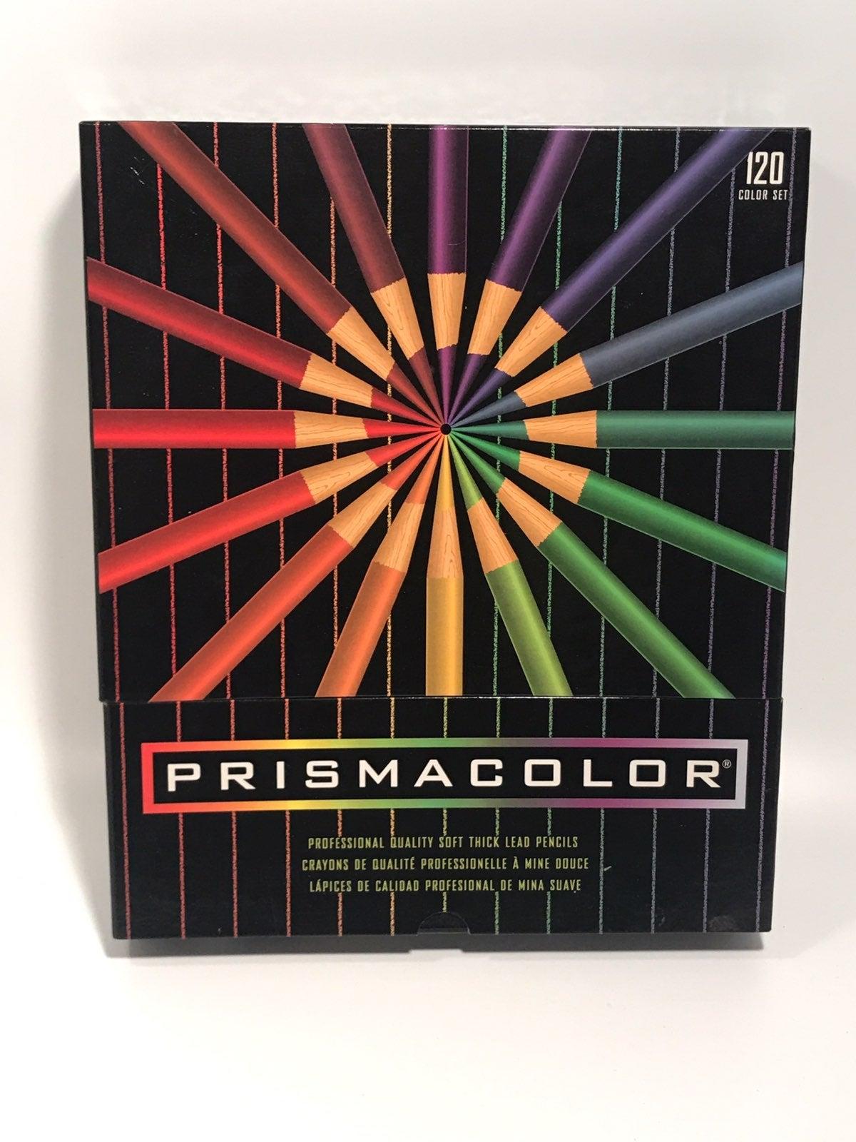 PRISMACOLOR 120pc Colored Pencil Box