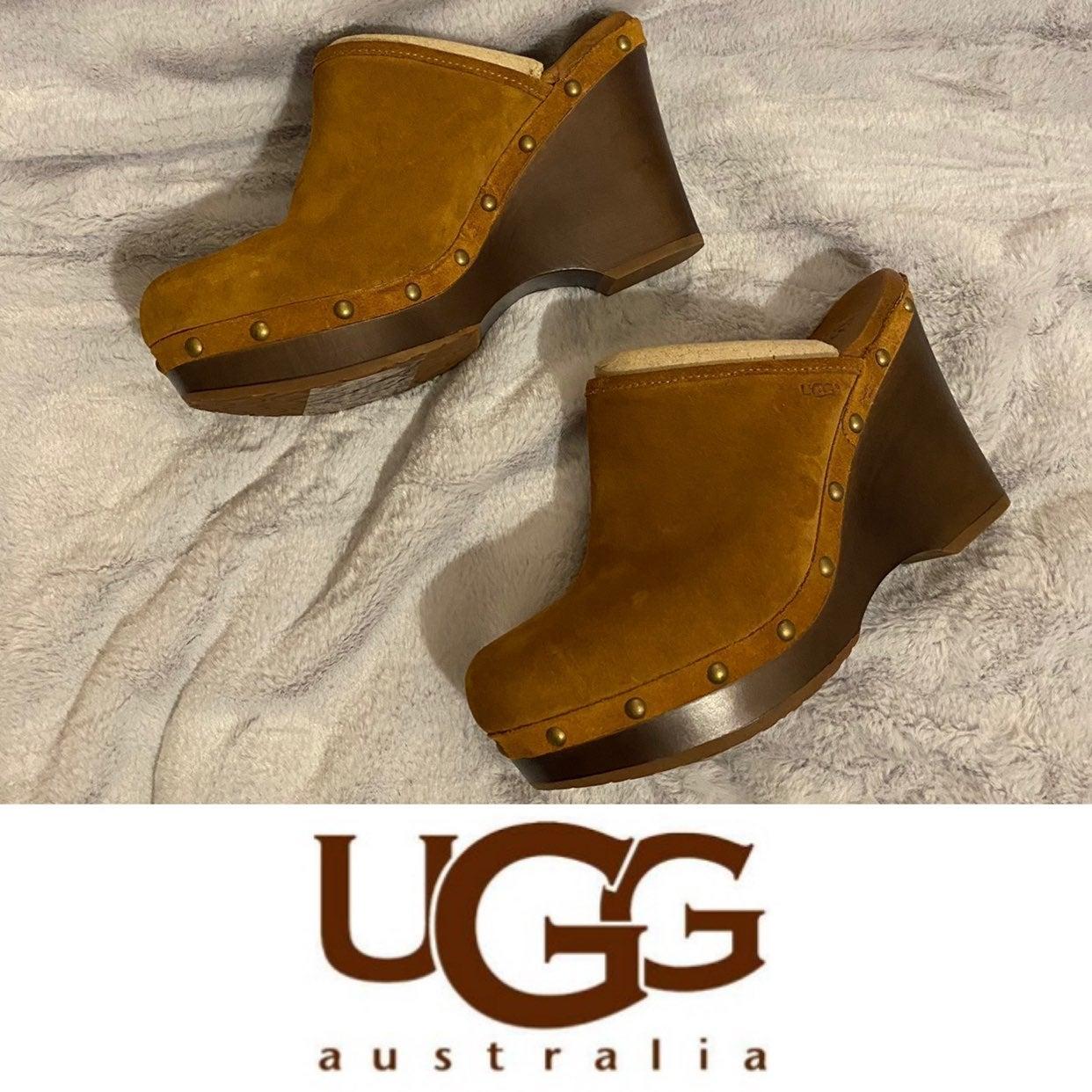New UGG Womens Clog Wedges