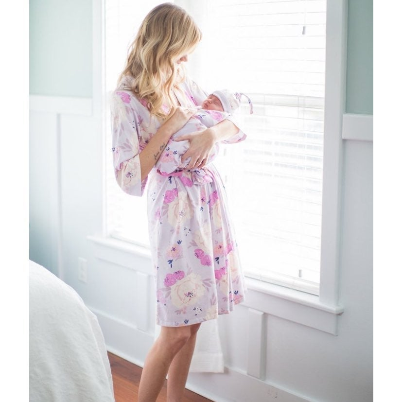 Baby Be Mine Delivery Robe & Swaddle