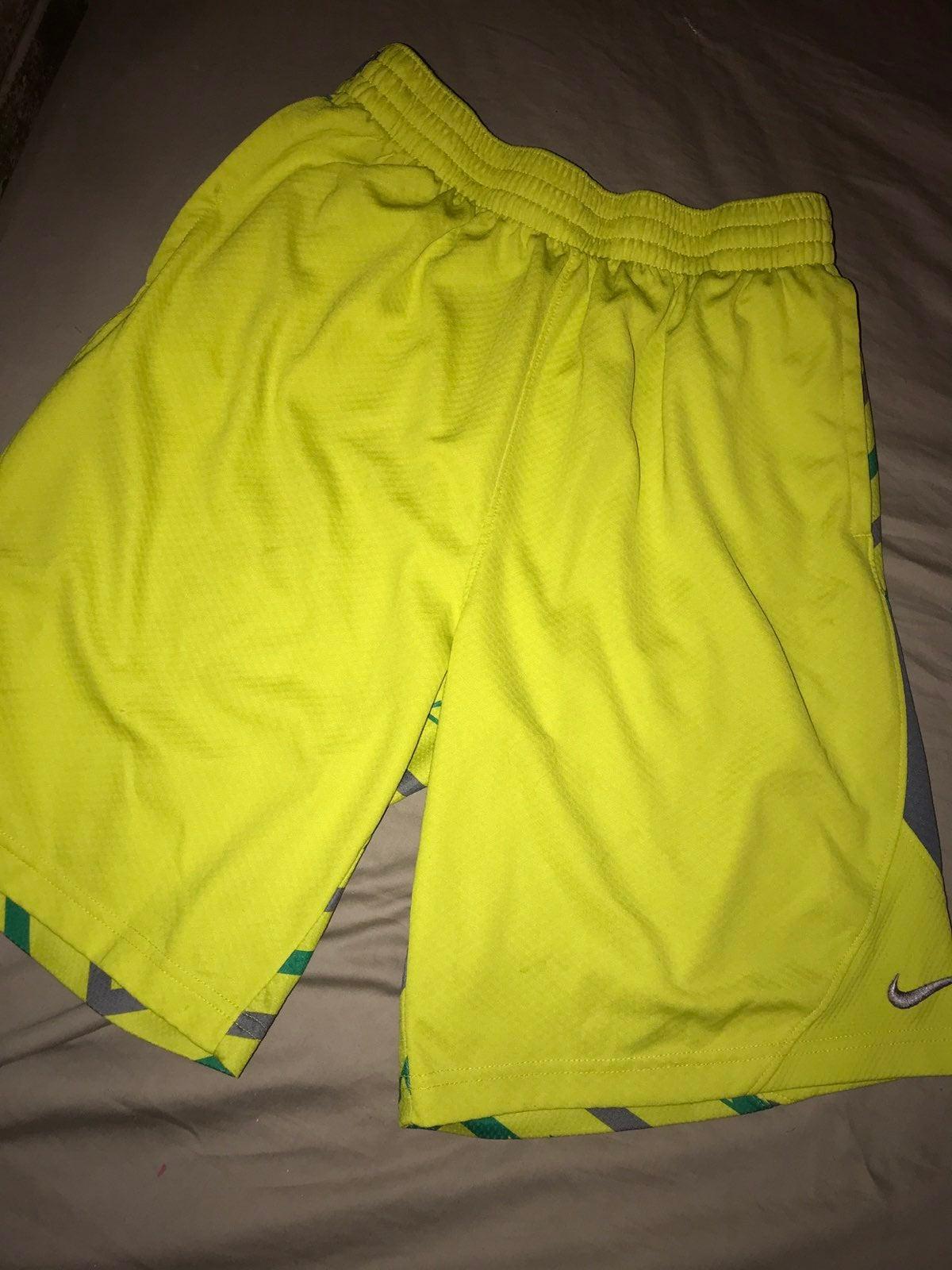 Vintage Nike Yellow Volt Short